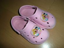 Dětské žabky a kroksy   Světle růžová - Dětský bazar  653f73c3c1