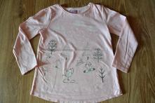 Dívčí tričko zimní motiv, f&f,110