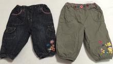 Zateplené kalhoty, c&a,74