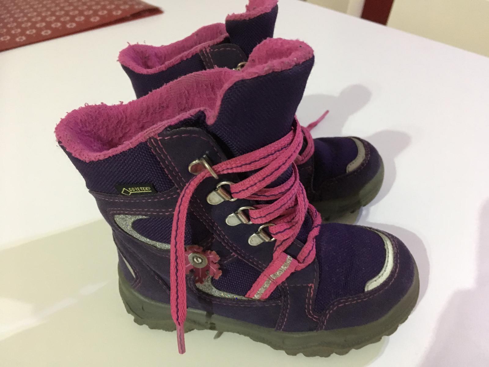 Zimní dívčí boty superfit velikost 24 b42bc1d393