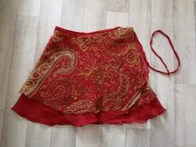 Zavinovací sukně, m