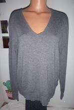Heboučký-pánský,kvalitní svetr -vel.l-xl, zara,l