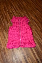 Růžová teplá vesta, f&f,98