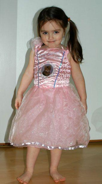 Karnevalové růžové pro kočičí princeznu, vílu,