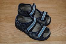 Kostkované sandály, befado,25