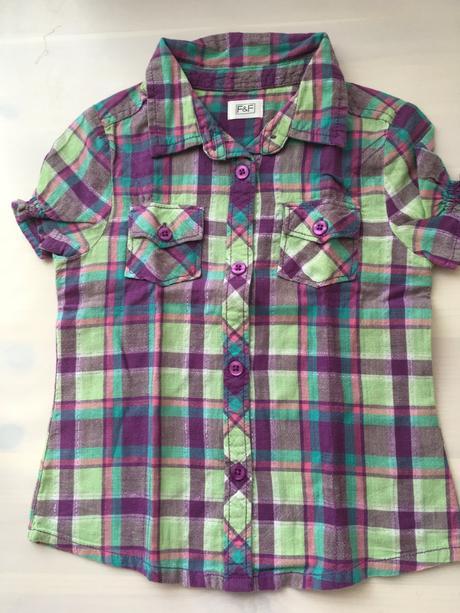 Dívčí košile, vel. 104, f&f,104