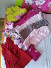 Balíček oblečení na holčičku 86,