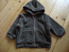 Chlupatá mikinka/kabátek, mini mode,62