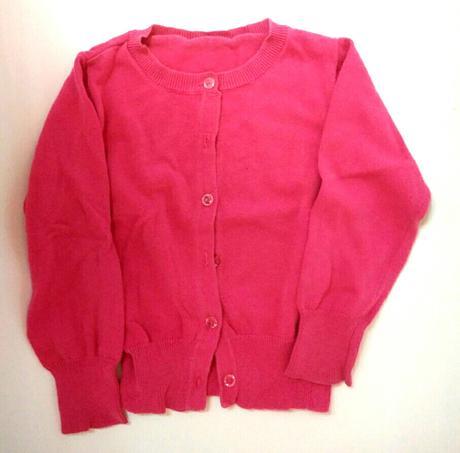 S102 - růžový dívčí svetr, st. bernard,110