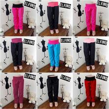 Softshellové kalhoty bez kapes,s fleece, 110 a 116, 110 / 116