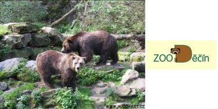 ZOO Děčín, také menší, ale líbilo se nám :-)