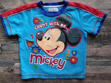 Bavlněné tričko mickey, disney,92