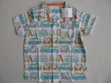 Košile krátký rukáv s auty-next, next,80
