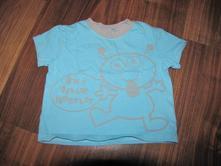 Modré tričko s kr.rukávem zn. cherokee vel. 80, cherokee,80