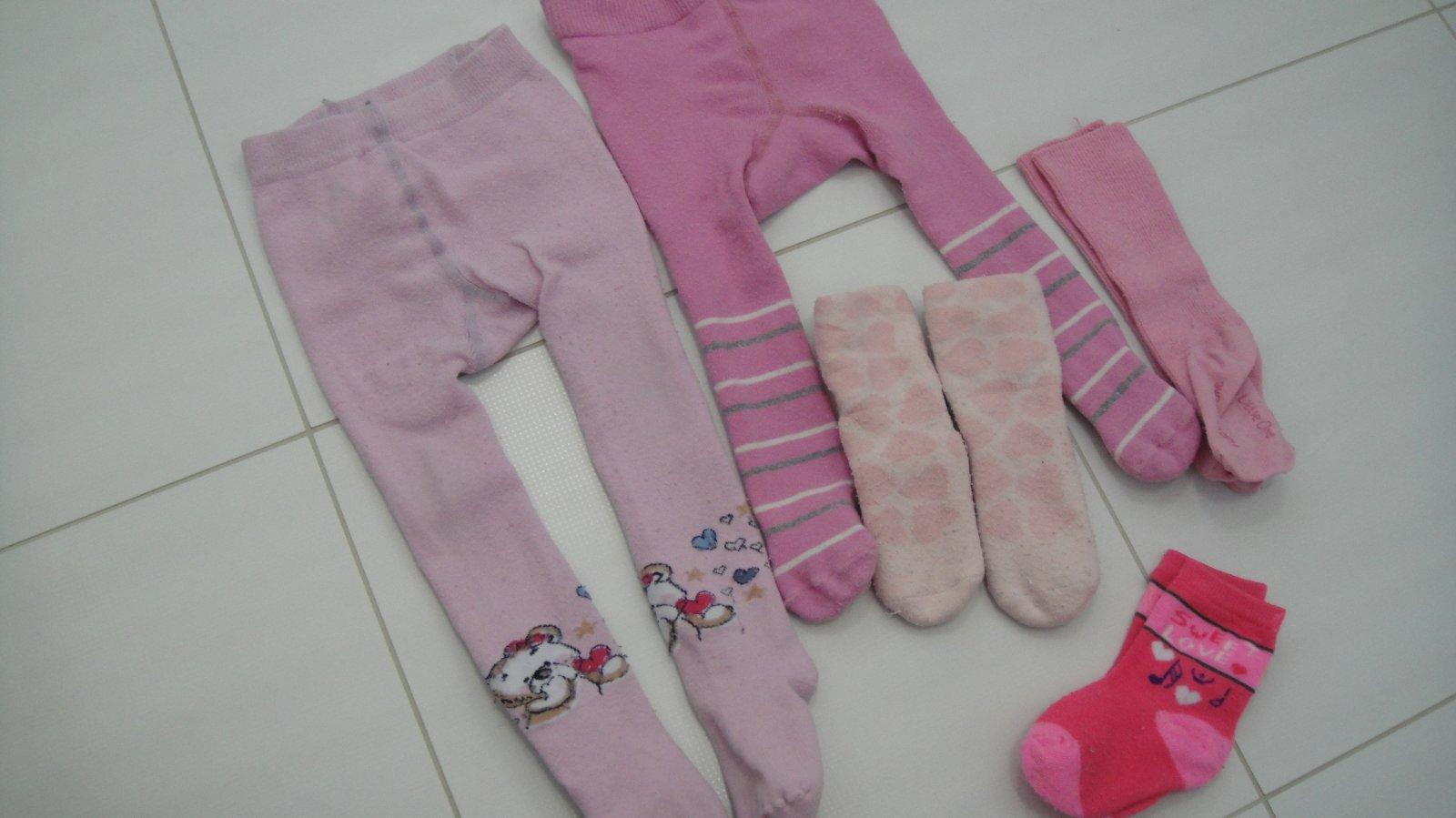 Sada oblečení na holčičku - punčocháče a ponožky 5ad1bae08c