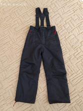 Lyžařské zateplené kalhoty/ oteplovačky toptex, 122