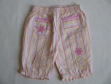 Plátěné letní kalhoty-9-12 měs., st. bernard,80
