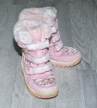 Teplé zimní růžové dívčí sněhule, f&f,29