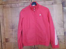 Červená bunda - teplákovka adidas 176 (s), adidas,176