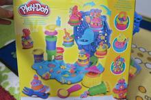 Play-doh cupcake celebration,