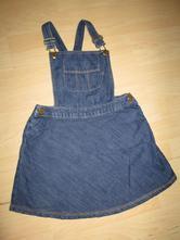 Džínové šaty, next,116