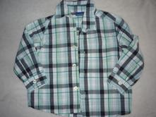 Kostkovaná košile zn cherokee vel 86-92, cherokee,86