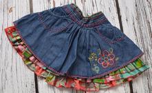Džínová sukně, marks & spencer,98