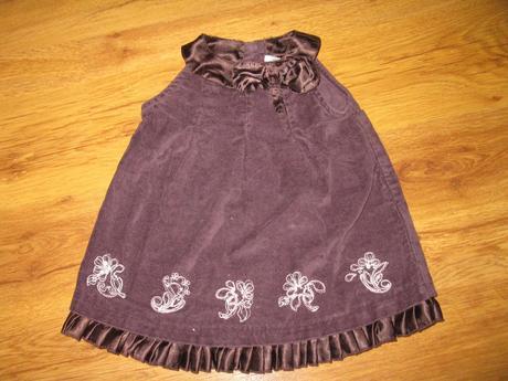 Sváteční šaty, c&a,68