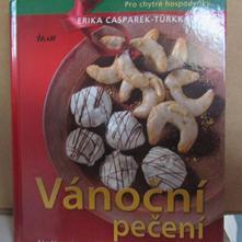 Kniha vánoční cukroví,