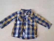 Kostkovaná košile 6-9 m, f&f,74