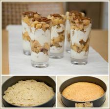 Jablečno-karamelový trifle
