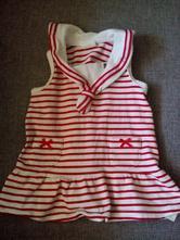 Námořnické šaty, h&m,62