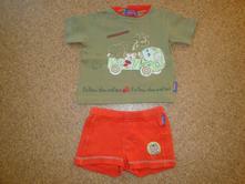 Tričko a kraťasy, babykap,80