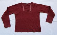 G10dívčí triko s dlouhým rukávem vel. 110, 110