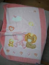 Dětská deka zn. belpla růžová,