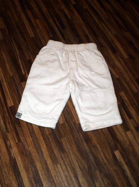 Bílé manžestrové kalhoty, cherokee,62