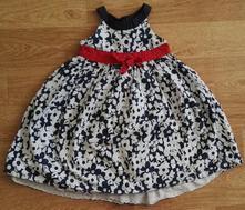 Květované šaty, matalan,86