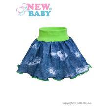 Kojenecká suknička new baby light jeansbaby zelená, new baby,62 - 98