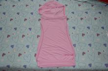 Vrstvící tričko, vesta s kapucí, 158