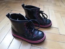 Koženkové kotníčkové boty, nelli blu,27