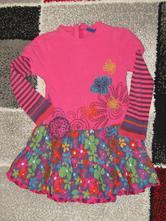 Bavlněné šaty zn.mc baby girls vel.104/110, 104