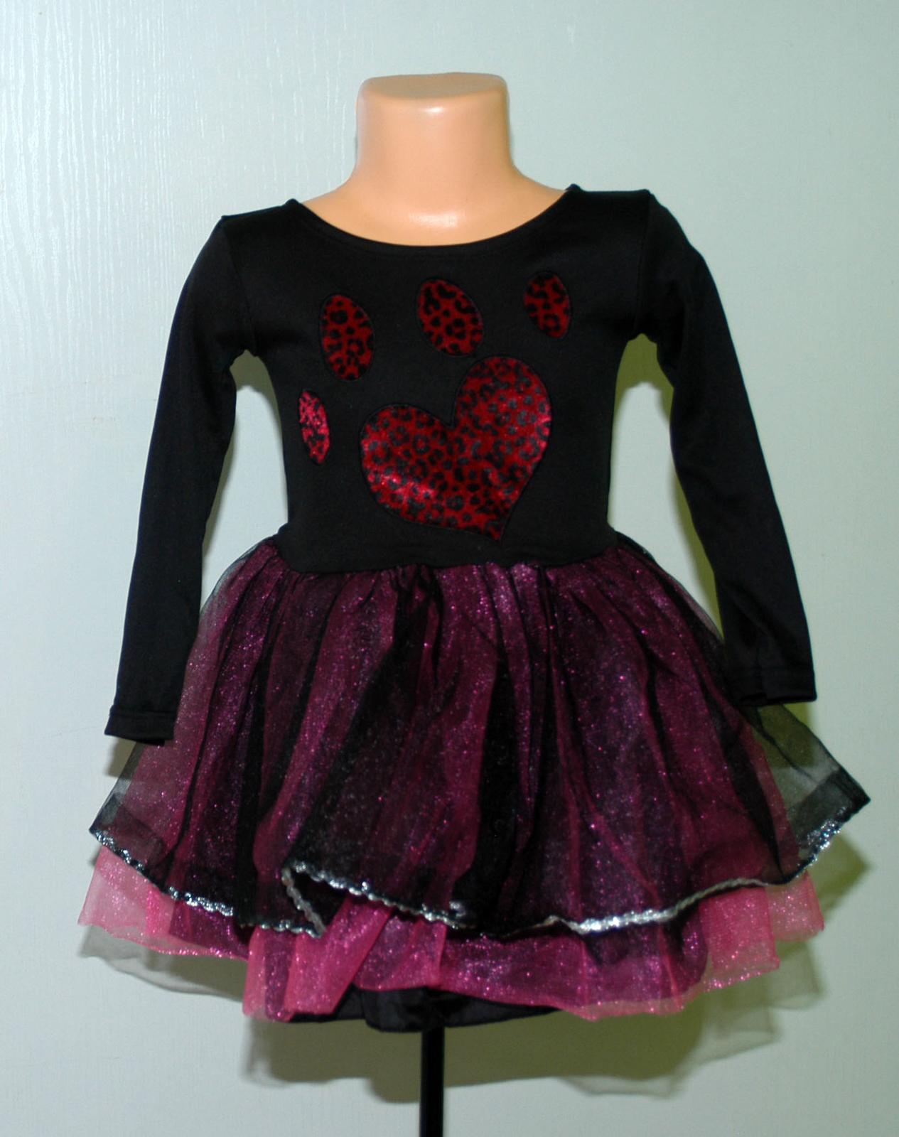 Karnevalové šaty kočička s tutu sukní f7b6c91edc