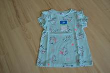 Nové tričko s kočičkami, vel. 80 (9-12 měs.), pepco,80