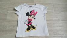 Bavlněné tričko s minnie, disney,92