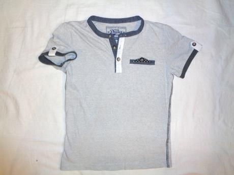 Luxusní značkové pruhované tričko dudeskin, dudeskin,122