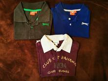Set triček s límečkem, slazenger,98