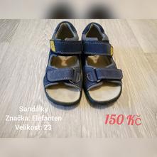Dětské sandály elefanten, elefanten,23