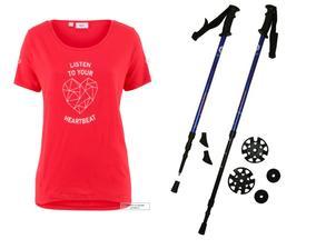 už před časem jsem si udělala radost :-) a z chození s hůlkami tedy nadšení!!!