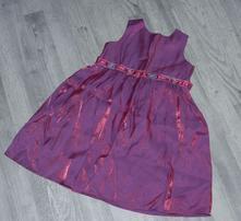 Společenské slavnostní šaty s kovovým odleskem, ladybird,98