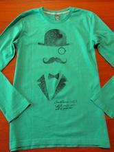 Zelené chlapecké triko zara vel 140-146, zara,140